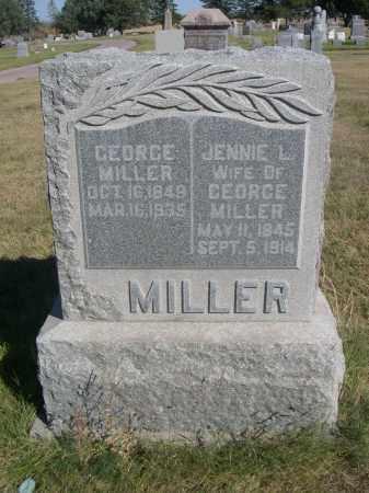 MILLER, GEORGE - Sheridan County, Nebraska | GEORGE MILLER - Nebraska Gravestone Photos