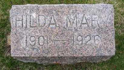 MILLER, HILDA MARY - Sheridan County, Nebraska | HILDA MARY MILLER - Nebraska Gravestone Photos