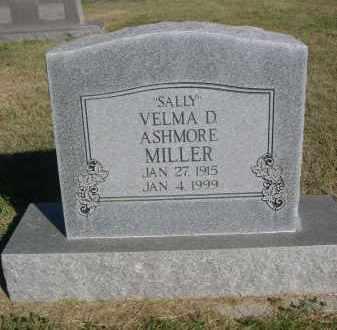 MILLER, VELMA D. - Sheridan County, Nebraska | VELMA D. MILLER - Nebraska Gravestone Photos