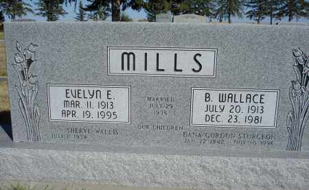 MILLS, EVELYN - Sheridan County, Nebraska | EVELYN MILLS - Nebraska Gravestone Photos