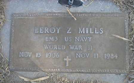 MILLS, LEROY Z. - Sheridan County, Nebraska | LEROY Z. MILLS - Nebraska Gravestone Photos