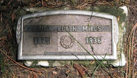 MILLS, LUCY EDITH (#2) - Sheridan County, Nebraska | LUCY EDITH (#2) MILLS - Nebraska Gravestone Photos