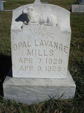 MILLS, OPAL LAVANGE - Sheridan County, Nebraska | OPAL LAVANGE MILLS - Nebraska Gravestone Photos