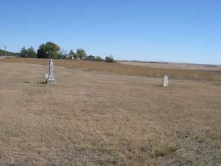 *MIRAGE FLATS CEMETERY, VIEW OF EARLY SECTION. - Sheridan County, Nebraska | VIEW OF EARLY SECTION. *MIRAGE FLATS CEMETERY - Nebraska Gravestone Photos