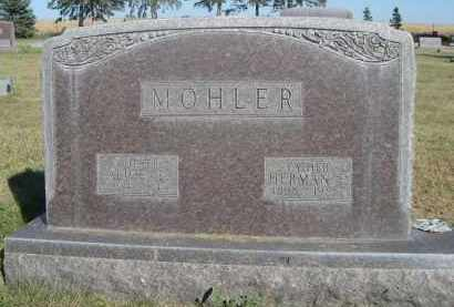 MOHLER, ALICE E. - Sheridan County, Nebraska | ALICE E. MOHLER - Nebraska Gravestone Photos
