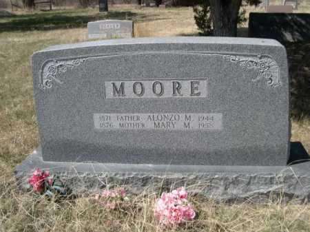 MOORE, MARY M. - Sheridan County, Nebraska | MARY M. MOORE - Nebraska Gravestone Photos