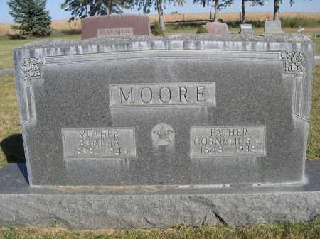 MOORE, BERTHA - Sheridan County, Nebraska | BERTHA MOORE - Nebraska Gravestone Photos