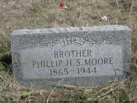 MOORE, PHILLIP H. S. - Sheridan County, Nebraska | PHILLIP H. S. MOORE - Nebraska Gravestone Photos