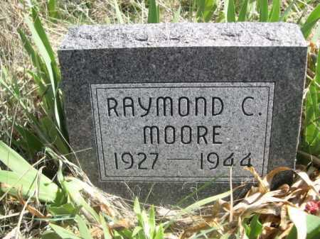 MOORE, RAYMOND C. - Sheridan County, Nebraska | RAYMOND C. MOORE - Nebraska Gravestone Photos