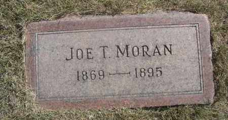 MORAN, JOE T. - Sheridan County, Nebraska | JOE T. MORAN - Nebraska Gravestone Photos
