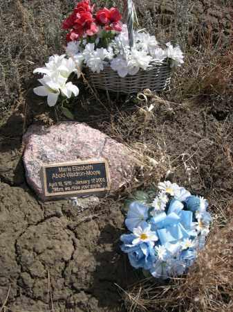ABOLD-WALDRON MOORE, MARIE ELIZABETH - Sheridan County, Nebraska | MARIE ELIZABETH ABOLD-WALDRON MOORE - Nebraska Gravestone Photos