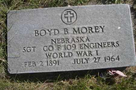 MOREY, BOYD B. - Sheridan County, Nebraska | BOYD B. MOREY - Nebraska Gravestone Photos