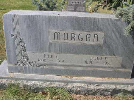 MORGAN, ETHEL F. - Sheridan County, Nebraska | ETHEL F. MORGAN - Nebraska Gravestone Photos