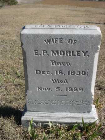 MORLEY, ISABELLE - Sheridan County, Nebraska | ISABELLE MORLEY - Nebraska Gravestone Photos