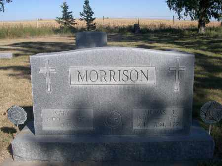 MORRISON, THOMAS R. - Sheridan County, Nebraska | THOMAS R. MORRISON - Nebraska Gravestone Photos