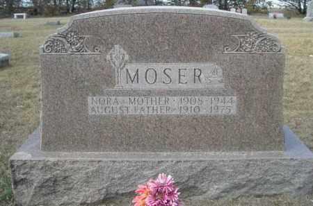 MOSER, AUGUST - Sheridan County, Nebraska | AUGUST MOSER - Nebraska Gravestone Photos