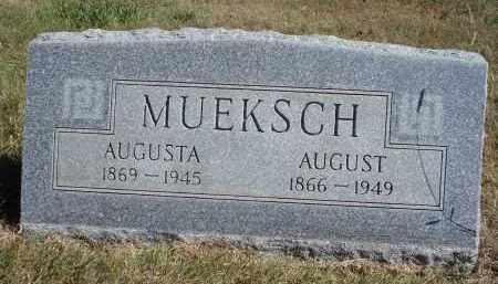 MUEKSCH, AUGUSTA - Sheridan County, Nebraska | AUGUSTA MUEKSCH - Nebraska Gravestone Photos