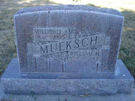 MUEKSCH, WILLAIM H. - Sheridan County, Nebraska | WILLAIM H. MUEKSCH - Nebraska Gravestone Photos