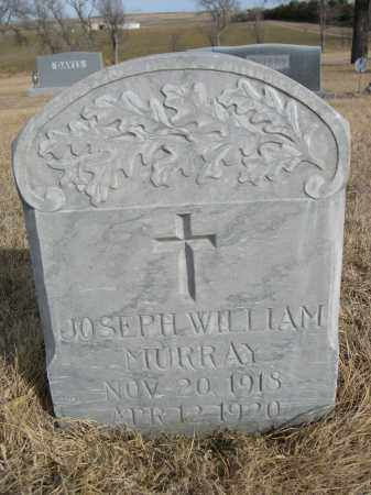 MURRAY, JOSEPH WILLIAM - Sheridan County, Nebraska | JOSEPH WILLIAM MURRAY - Nebraska Gravestone Photos