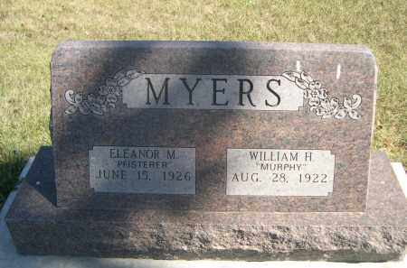 MYERS, ELEANOR M. - Sheridan County, Nebraska | ELEANOR M. MYERS - Nebraska Gravestone Photos
