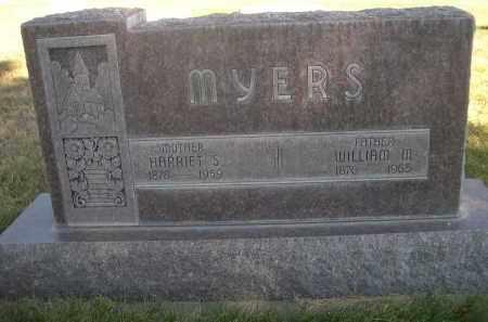 MYERS, HARRIET S. - Sheridan County, Nebraska | HARRIET S. MYERS - Nebraska Gravestone Photos