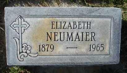 NEUMAIER, ELIZABETH - Sheridan County, Nebraska | ELIZABETH NEUMAIER - Nebraska Gravestone Photos