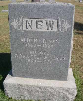 NEW, ALBERT D. - Sheridan County, Nebraska | ALBERT D. NEW - Nebraska Gravestone Photos