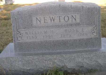 NEWTON, ROSE E. - Sheridan County, Nebraska   ROSE E. NEWTON - Nebraska Gravestone Photos