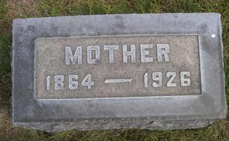 NORDIN, MOTHER - Sheridan County, Nebraska   MOTHER NORDIN - Nebraska Gravestone Photos