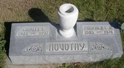NOVOTNY, FREDERICK I. JR. - Sheridan County, Nebraska   FREDERICK I. JR. NOVOTNY - Nebraska Gravestone Photos