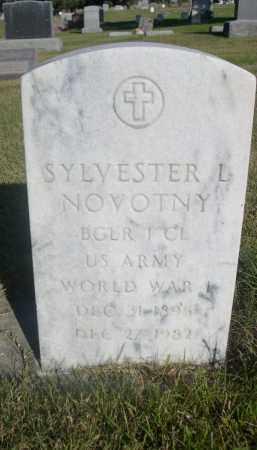 NOVOTNY, SYLVESTER L. - Sheridan County, Nebraska | SYLVESTER L. NOVOTNY - Nebraska Gravestone Photos
