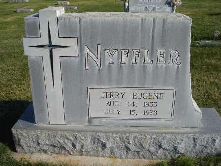 NYFFLER, JERRY EUGENE - Sheridan County, Nebraska   JERRY EUGENE NYFFLER - Nebraska Gravestone Photos