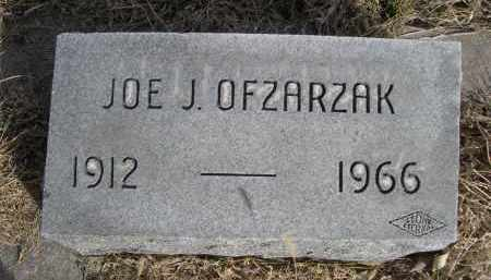 OFZARZAK, JOE J. - Sheridan County, Nebraska | JOE J. OFZARZAK - Nebraska Gravestone Photos