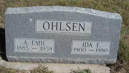 OHLSEN, A. EMIL - Sheridan County, Nebraska | A. EMIL OHLSEN - Nebraska Gravestone Photos