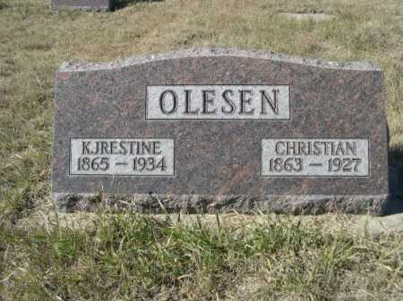 OLESEN, KJRESTINE - Sheridan County, Nebraska | KJRESTINE OLESEN - Nebraska Gravestone Photos