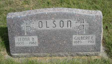 OLSON, LEONA B. - Sheridan County, Nebraska | LEONA B. OLSON - Nebraska Gravestone Photos