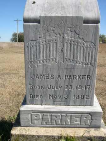 PARKER, JAMES A. - Sheridan County, Nebraska   JAMES A. PARKER - Nebraska Gravestone Photos