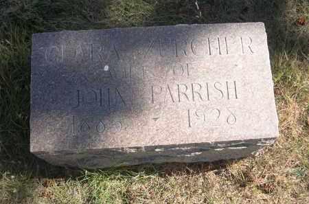 ZURCHER PARRISH, CLARA - Sheridan County, Nebraska   CLARA ZURCHER PARRISH - Nebraska Gravestone Photos