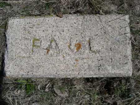 PAUL, PLOT - Sheridan County, Nebraska | PLOT PAUL - Nebraska Gravestone Photos