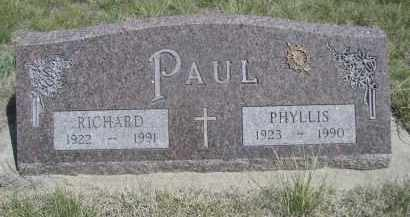 PAUL, PHYLLIS - Sheridan County, Nebraska | PHYLLIS PAUL - Nebraska Gravestone Photos