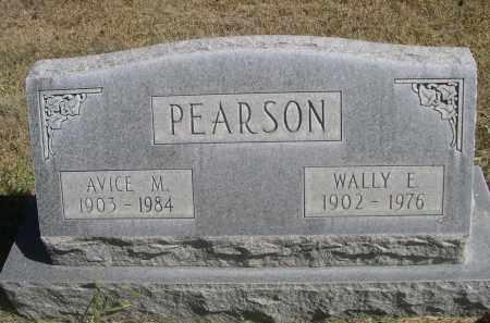 PEARSON, AVICE M. - Sheridan County, Nebraska | AVICE M. PEARSON - Nebraska Gravestone Photos