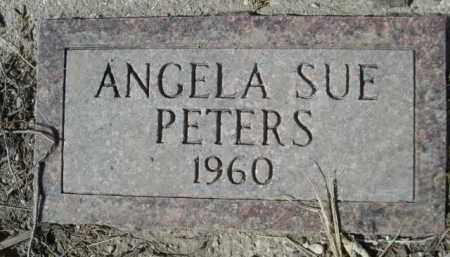 PETERS, ANGELA SUE - Sheridan County, Nebraska | ANGELA SUE PETERS - Nebraska Gravestone Photos