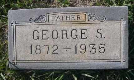 PETERS, GEORGE S. - Sheridan County, Nebraska | GEORGE S. PETERS - Nebraska Gravestone Photos