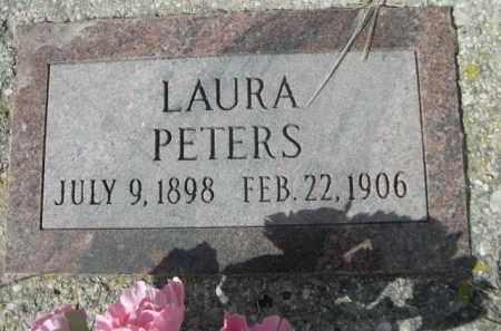 PETERS, LAURA - Sheridan County, Nebraska | LAURA PETERS - Nebraska Gravestone Photos