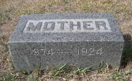 PETERS, MOTHER - Sheridan County, Nebraska   MOTHER PETERS - Nebraska Gravestone Photos