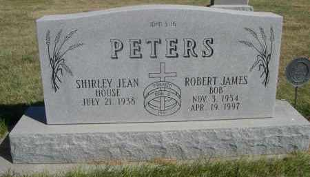 HOUSE PETERS, SHIRLEY JEAN - Sheridan County, Nebraska | SHIRLEY JEAN HOUSE PETERS - Nebraska Gravestone Photos