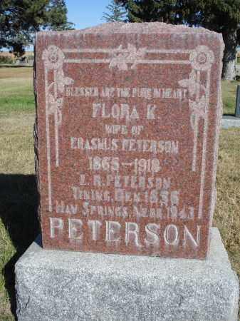 PETERSON, ERASMUS R. - Sheridan County, Nebraska | ERASMUS R. PETERSON - Nebraska Gravestone Photos