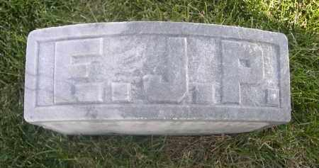 PFISTERER, E. J. - Sheridan County, Nebraska   E. J. PFISTERER - Nebraska Gravestone Photos