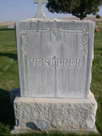 PFISTERER, FAMILY - Sheridan County, Nebraska | FAMILY PFISTERER - Nebraska Gravestone Photos