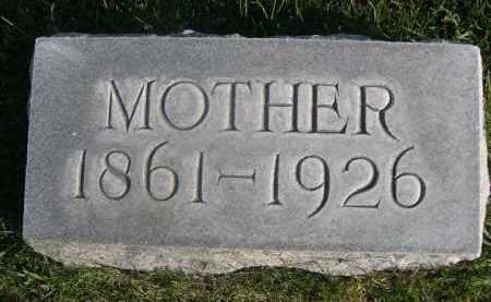 PFISTERER, MOTHER - Sheridan County, Nebraska   MOTHER PFISTERER - Nebraska Gravestone Photos